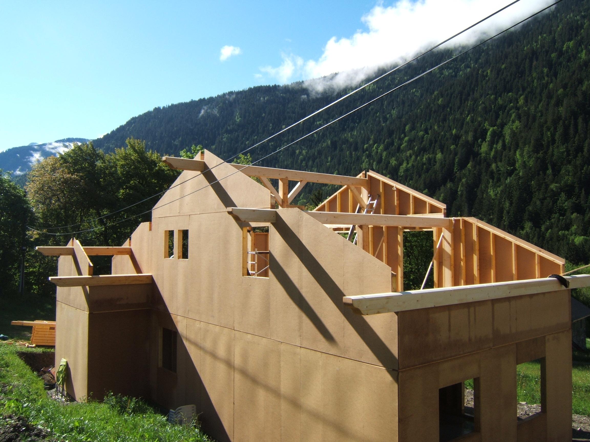 notre maison ossature bois de a z toit toi mon toit. Black Bedroom Furniture Sets. Home Design Ideas